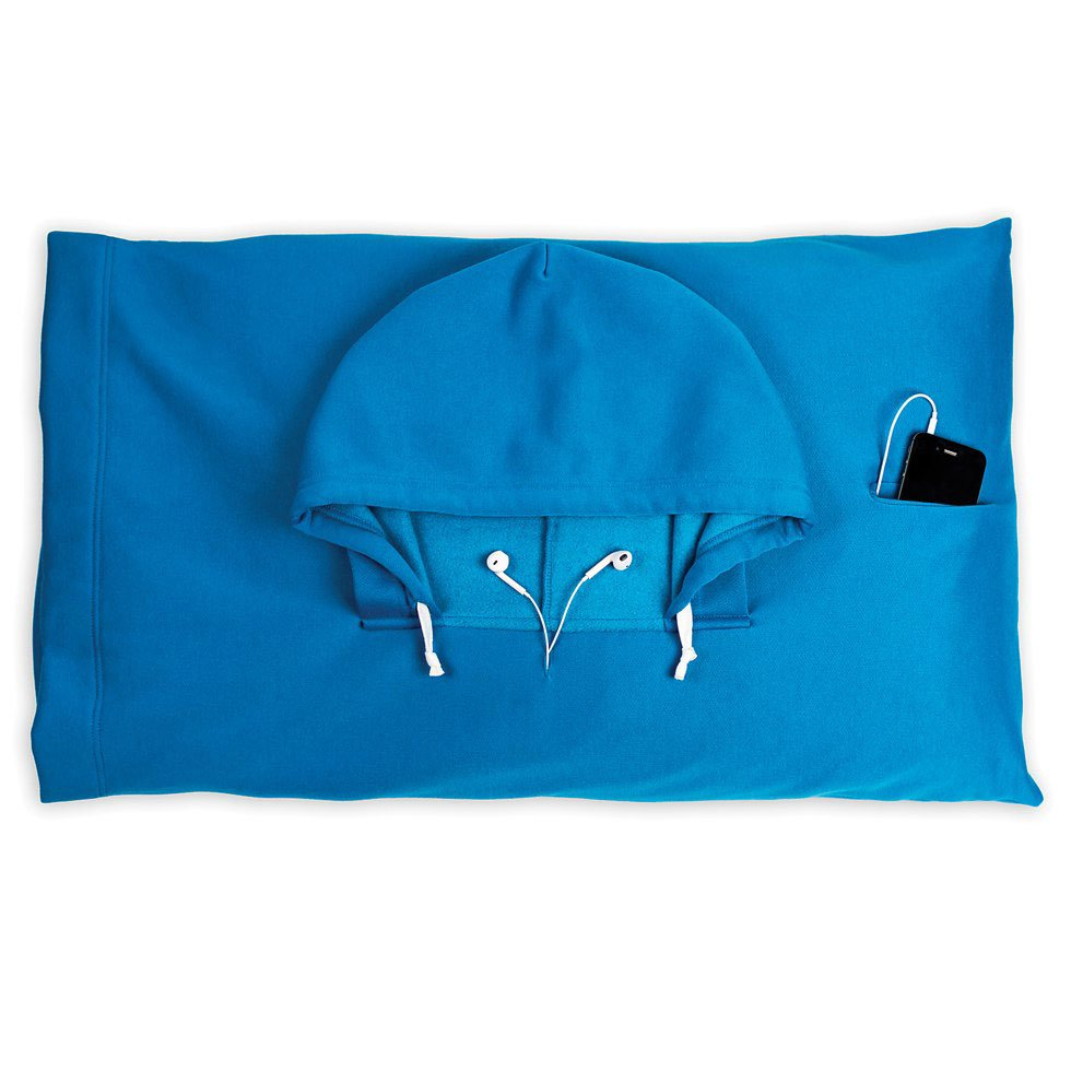 Hoodie Mp3 Pillow With Hood Cool Mania