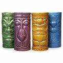 Tiki mugs -Cocktail ceramic glasses -set of 4 pcs