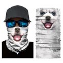 HUSKY bandana - Multifunctional scarf for face or head