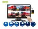 """9 """"Dotykový monitor s nahráváním na micro SD kartu (do 256 GB) pro 4 couvací kamery"""