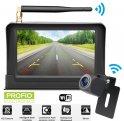 "Wireless parking camera set: 5"" monitor + mini rear camera (IP68)"