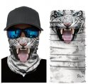 ​Animal multifunctional scarves on face or head - TIGER