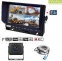 """Parkovacia kamera AHD sets nahrávaním na SD kartu - 1x HD kamera+ 1x Hybridný 7"""" AHD monitor"""