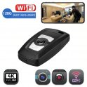 Камера брелка Wifi з роздільною здатністю 4K - Розкішний дизайн з підтримкою до 128 ГБ мікро SD