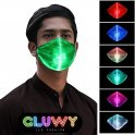 LED protective face mask - option to switch 7 colors