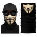 Anonymous (VENDETA) - multifunctional bandana