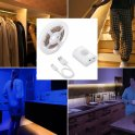 LED light for kitchen, bed, stairs 1M strip with motion sensor + Li-on battery - PACK