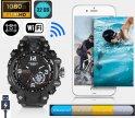 Kamera zegarka - zegarek szpiegowski + Wifi + pamięć 32 GB + ochrona IP67