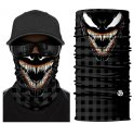 VENOM bandana - scary balaclava on face or head