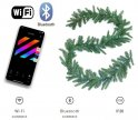 Guirlande de Noël avec lumières Smart 50 LED RGB + W - Twinkly Garland + BT + WiFi
