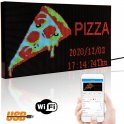 Programmable WiFi LEDpanel board RGB color - 20x39cm with stand
