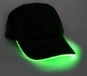 Flashing cap - green