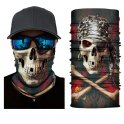 Skeleton balaclava (multifunctional headwear) - PIRATE SKULL