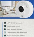 Камера, скрита в FULL HD детектор за дим + 1 година живот на батерията + IR LED + WiFi + откриване на движение
