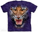Mountain T-shirt - Furious tiger