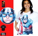 Captain America - Morph shirt