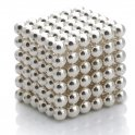 Magnetic balls - 5mm silver