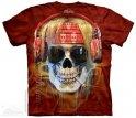 Футболка батіка - Rocker Skull