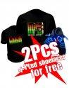 Cumpărați 2 tricouri cu Led și obțineți 1 șuruburi de conducere gratuite