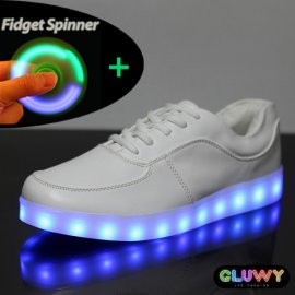 Scarpe LED brillanti Gluwy
