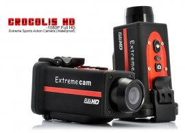 Sport caméscope Full HD 1080P Crocolis Extreme
