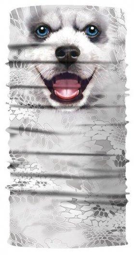 Bandana HUSKY - Pañuelo multifuncional para rostro o cabeza