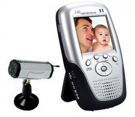 Vezeték nélküli Palm Monitor + IR LED kamera