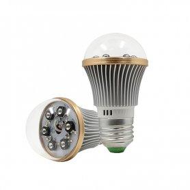 6x IRLEDを備えた電球の追加のIRナイトビジョン-最大8メートルの範囲