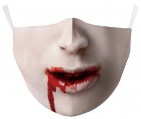 VAMPIRE - maschera protettiva per il viso 100% poliestere