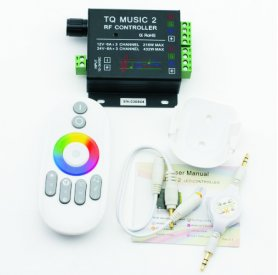 Telecomando Wi-Fi SOUND SENSITIVE + colori RGB per striscia RGB LED in silicone