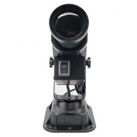 Gobo projektor forgó LED 30W, saját logó vetítésével, akár 20M-ig