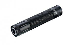 LED torch light powerful waterproof 240 lumen with alarm
