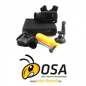 Kufřík příslušenství pro sportovní kamery - OSA PACK Lite