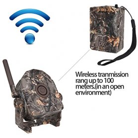 Wireless Hunting Trail & Security Alarm Motion Bestguarder 5 sensors + 1 receiver