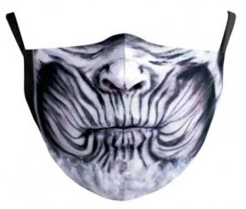 NIGHT KING - protective face mask 100% polyester