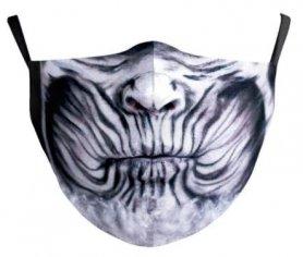 NIGHT KING - maschera protettiva per il viso 100% poliestere