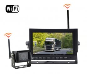 "Parking car camera set - WiFi 7"" LED monitor + WiFi camera"