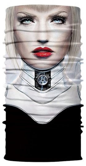 Pañuelo para mujer multifuncional - CRUELA DEVIL