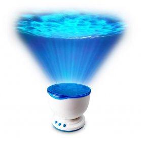 Tengeri projektor -a tenger alatti fényvetítő a falon + Bluetooth hangszóró