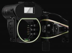 Digitalni pramčani nišan s laserskim mjeračem udaljenosti sa zaslonom - najbolji daljinomjer