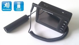 "Bullet Camera E-Camcorder + 2,5"" LCD display"