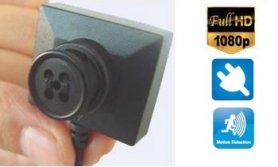 Buton ultra-micro camera cu FULL HD