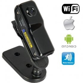 Smallest wireless spy camera on Micro SD