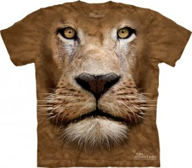Animal twarz t-shirt - Lion