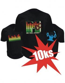 MEGA Akcia - 10ks LED Tričiek za super zľavu pre teba