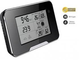 Weather station with SPY FULL HD camera and remote control