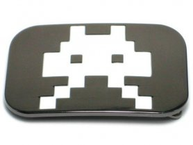 Belt buckle - Space Invaders