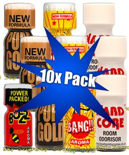 Poppers pack 10x - Mix