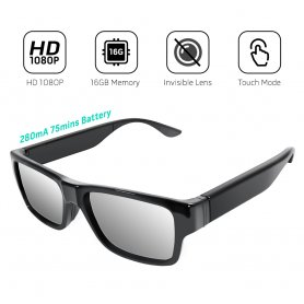 Touch spy glasses with HD camera + P2P live video + WiFi