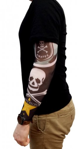 Tattoo sleeve - Pirate